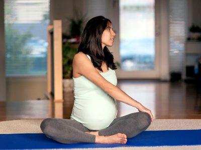Yoga 2v1 pro těhotné ženy