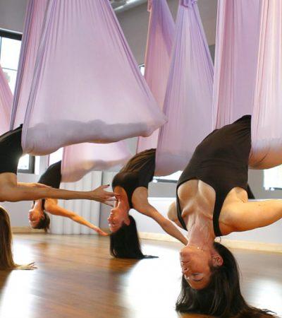 Fly yoga , Antigravity yoga, Yoga v šátku Brno v Brně